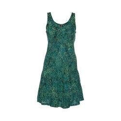 Women's Ojai Clothing Weekend Sleeveless Dress Mint Daisy