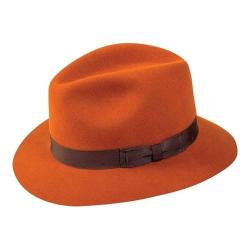 Pantropic Hunter Fedora Burnt Orange