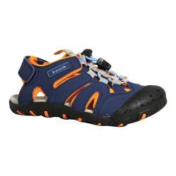 Children's Kamik Oyster Sandal Navy Synthetic Leather (More options available)