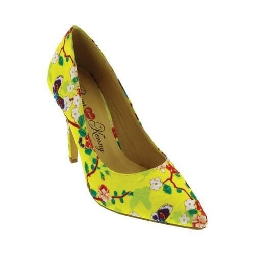 61568d76fd9 Women's Penny Loves Kenny Opus SF Pump Yellow Floral
