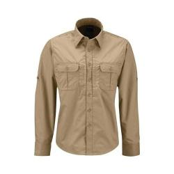 Women's Propper Kinetic Long Sleeve Shirt Khaki