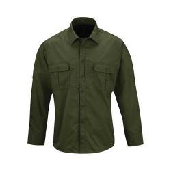 Men's Propper Kinetic Long Sleeve Shirt Long Olive Green