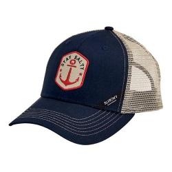 San Diego Hat Company Stay Salty Patch Baseball Cap SLW3583 Navy