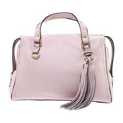 Women's Cole Haan Cassidy Satchel Peach Blush Pebble Leather