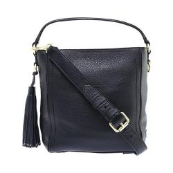 Women's Cole Haan Cassidy Small Bucket Bag Black Pebble Leather