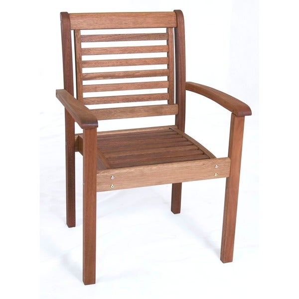 ... Wood Stackable Chair - Free Shipping Today - Overstock.com - 10739054