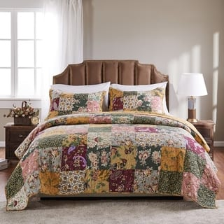 Greenland Home Fashions Antique Chic King-size 3-Piece Quilt Set|https://ak1.ostkcdn.com/images/products/2521006/P10739067.jpg?impolicy=medium