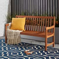 Clay Alder Home Barclay Long Outdoor Wood Bench