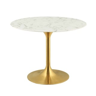 """Link to Lippa 40"""" Round Dining Table - Gold White Similar Items in Dining Room & Bar Furniture"""