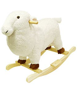 Plush Children's Rocking Lamb