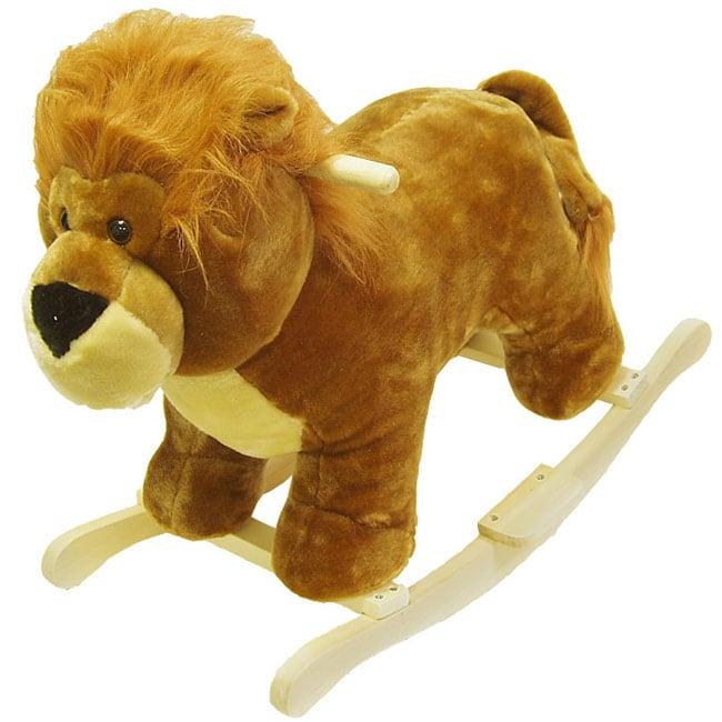 Plush Children's Rocking Lion