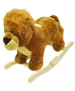 Plush Children's Rocking Lion