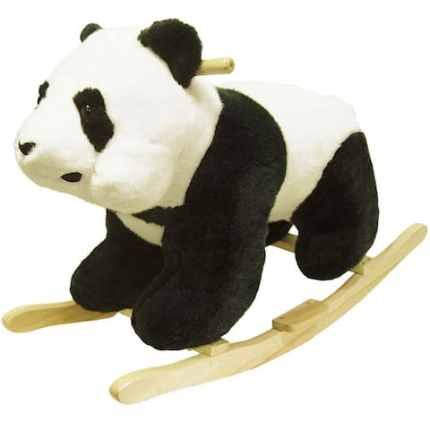 Plush Children's Rocking Panda Bear