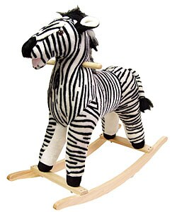 Plush Children's Rocking Zebra
