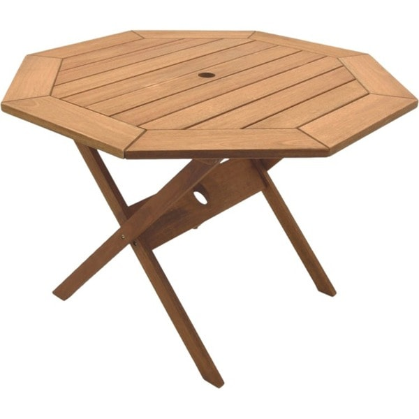 Amazonia Octagonal 47 Inch Folding Table