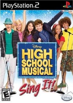 PS2 - High School Musical: Sing it!