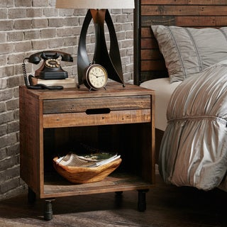 Carbon Loft Haberman Light Brown Multi Nightstand