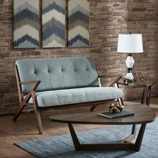 Link to Carson Carrington Naglestad Seafoam Loveseat Similar Items in Living Room Furniture