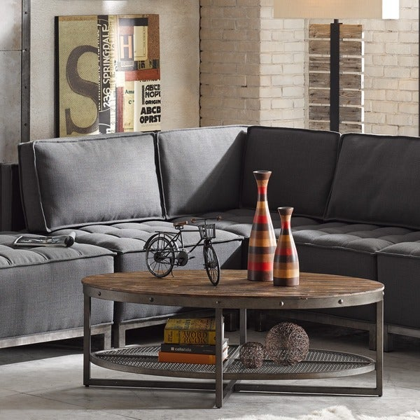 Carbon Loft Magie Brown Coffee Table