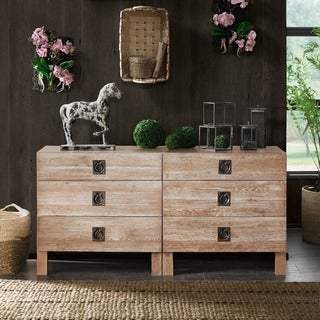 The Curated Nomad Cliff House Aged Oak Dresser