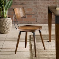 "Carson Carrington Royknes Brown Dining Chair (Set of 2) - 18""w x 20""d x 31.25""h (2)"