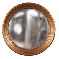 Allan Andrews Silas Country Gold Round Large Concave Mirror
