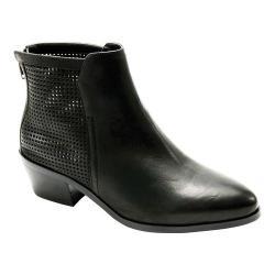 Women's David Tate Kaci Ankle Boot Black Brushed Nubuck
