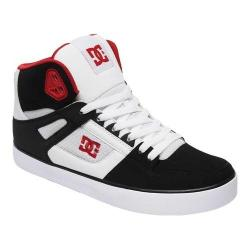 Men's DC Shoes Pure High-Top Sneaker White/Black/Red