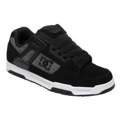 Men's DC Shoes Stag Black/Grey/White