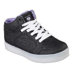 Girls' Skechers S Lights Energy Lights Limelightz High Top Sneaker Black/Purple