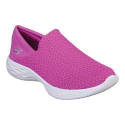 Girls' Skechers YOU Slip-On Sneaker Fuchsia