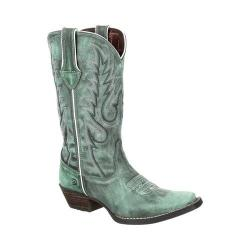 Women's Durango Boot DRD0306 Dream Catcher 12in Western Boot Gypsy Teal Full Grain Leather