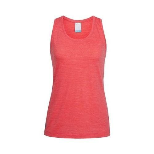 aa4cfdc135bf1a Shop Women s Icebreaker Sphere Tank Top Poppy Red Heather - Free Shipping  Today - Overstock - 21555587
