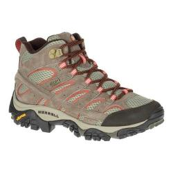 Women's Merrell Moab 2 Mid Waterproof Hiking Boot Bungee Cord