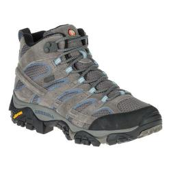 Women's Merrell Moab 2 Mid Waterproof Hiking Boot Granite