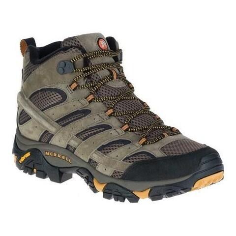 Men's Merrell Moab 2 Vent Mid Hiking Shoe Walnut