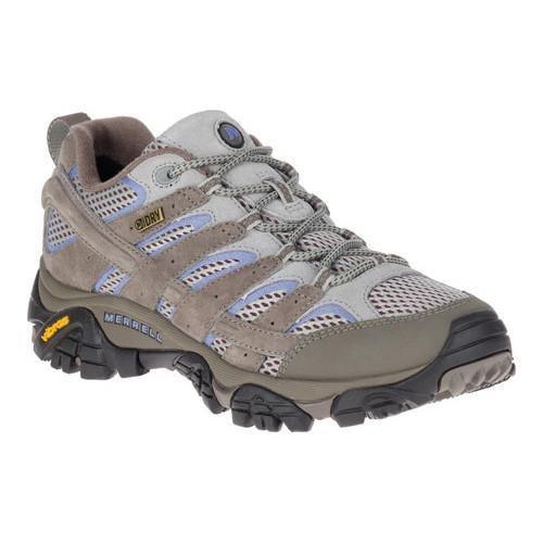 Shop Women s Merrell Moab 2 Waterproof Hiking Shoe Falcon - Free Shipping  Today - Overstock - 21555723 3cabdd7ea