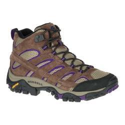 Women's Merrell Moab 2 Vent Mid Hiking Shoe Bracken/Purple