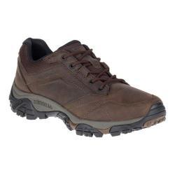 Men's Merrell Moab Adventure Lace Hiking Shoe Dark Earth Nubuck Leather