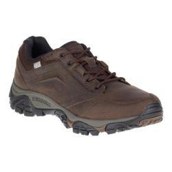 Men's Merrell Moab Adventure Lace Waterproof Hiking Shoe Dark Earth Nubuck Leather