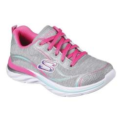 Girls' Skechers Quick Kicks Sparkle Jam Sneaker Gray/Multi
