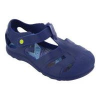 Boys' Western Chief Playground Sandal Blue Blast PVC