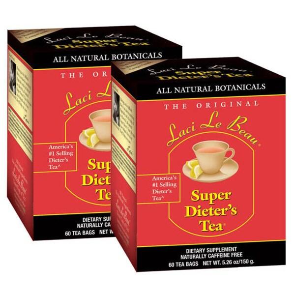 Laci Le Beau All Natural Super Dieter's Tea (Case of 120)