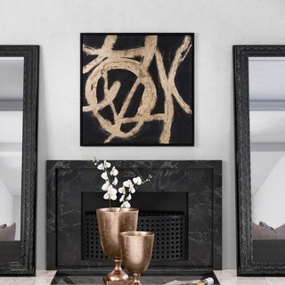 Ballare Canvas Wall Art - Black