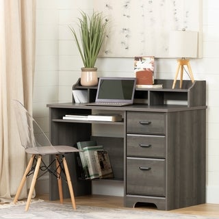 South Shore Versa Computer Desk with Hutch