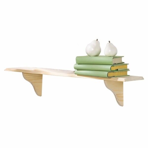 InPlace 16-inch Unfinished Shelf Kit. Opens flyout.