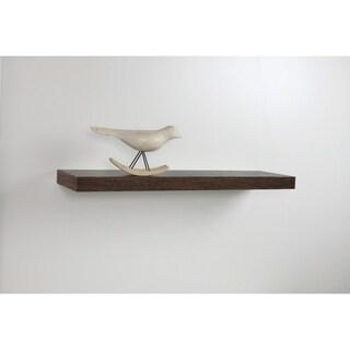 InPlace 35-inch Oak Floating Shelf