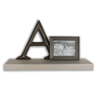Link to InPlace 23.5-inch Driftwood Floating Shelf Similar Items in Accent Pieces