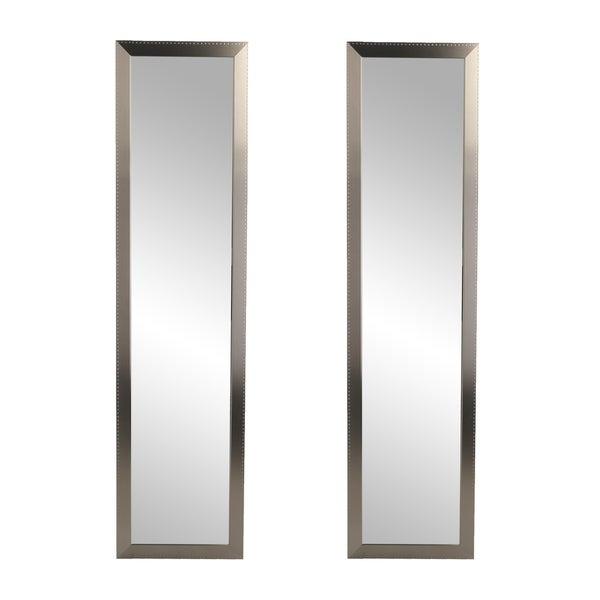 2 Piece Slim Floor Mirror Set - 14 x 69