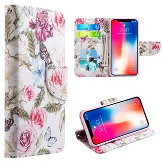 Iphone XS Max The Detachable Trndy Leather Flip Wallet Case